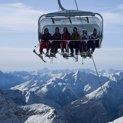 Ски курорти- Мьолталер Глетчер, Австрия