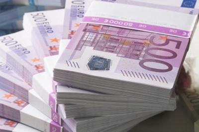 Пари 500 euro, евро, заплати