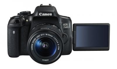 Фотоапарат DSLR Canon EOS 750D