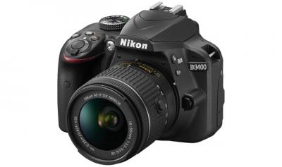 Фотоапарат DSLR Nikon D3400