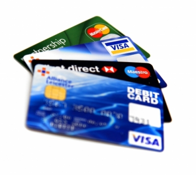 Кредитни карти - Visa, Master Card, Diners Club - банкови карти