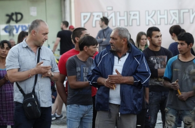 Роми и българи протестират срещу кражбите