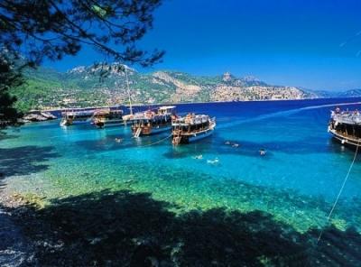 Фетие - почивка в курорта Фетие. Турция.