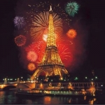 Екскурзии до Париж, Айфелова кула, Нова година