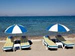Два шезлонга за почивка, пътувания, екскурзии на море